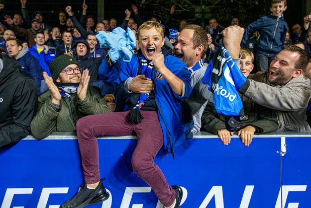 Toen Club Brugge nog door zijn supporters werd uitgejouwd
