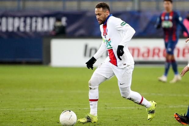 Neymar verlengt contract bij PSG tot 2025