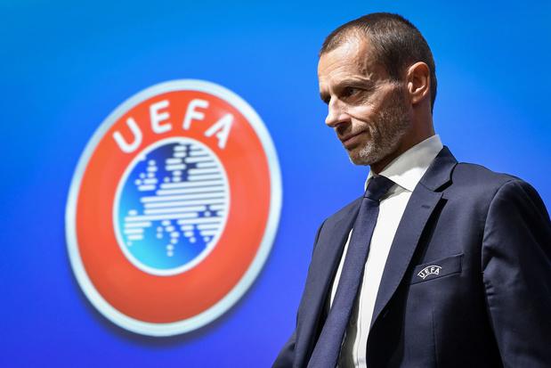 UEFA-voorzitter Ceferin belooft sancties voor Super League-clubs