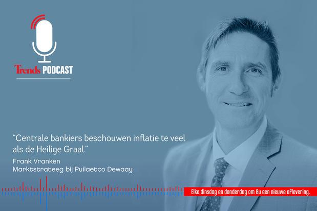 Trends Podcast met marktstrateeg Frank Vranken over de stand van zaken op de financiële markten