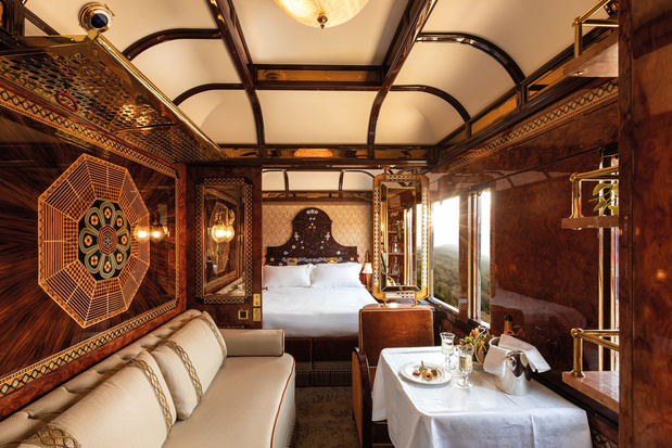 Van glamourlounges tot michelinchefs: slow travel in stijl met deze luxueuze treinreizen