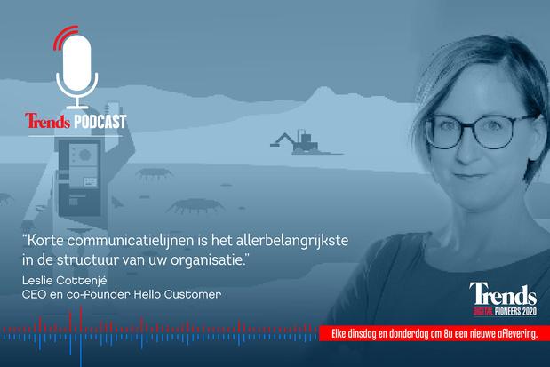 Trends Podcast: Leslie Cottenjé geeft crashcursus 'Hoe digitaliseer ik mijn bedrijf'