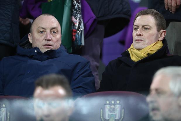 Karel Van Eetvelt geeft zijn ontslag als ceo van Anderlecht, Jos Donvil is zijn opvolger
