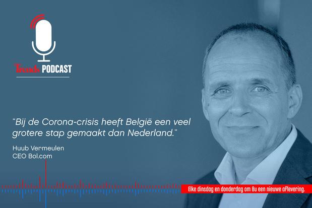 Trends Podcast met Huub Vermeulen (CEO Bol.com) over online shoppen in België en Nederland