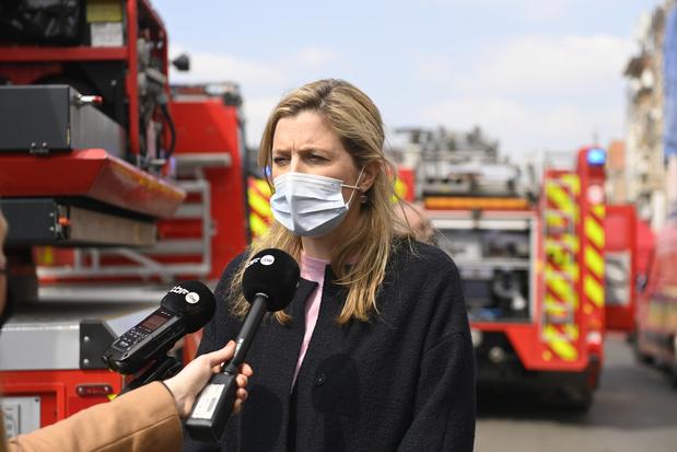 Zware woningbrand Anderlecht geblust: 1 dodelijk slachtoffer, 30 gewonden
