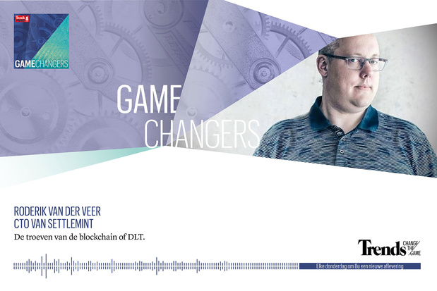Trends Podcast met Roderik van der Veer (Settlemint) over de troeven van de blockchain
