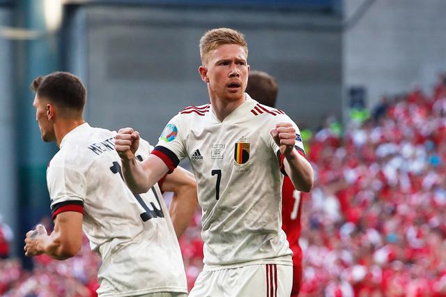Rode Duivels winnen van Denemarken dankzij uitmuntende Kevin De Bruyne