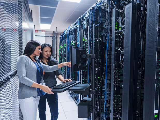Sterk laatste kwartaal kan servermarkt niet redden
