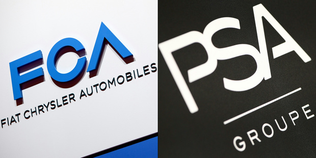 """Peugeot-Fiat: les actionnaires donnent le feu vert à la """"mégafusion"""" de l'automobile"""