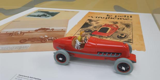 En voiture, Tintin !