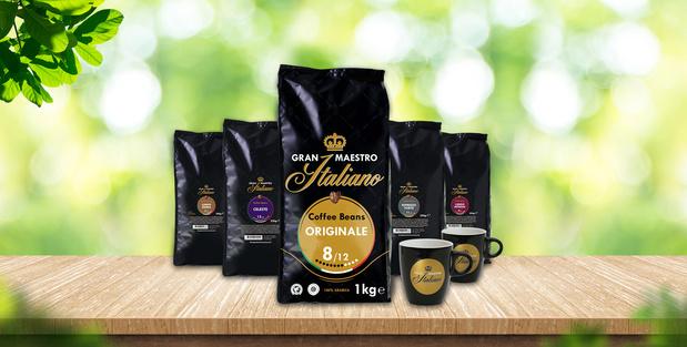 Gran Maestro Italiano Le café récompensé par de l'or Cadeau