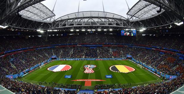 Les Diables joueront dans un stade plein à Saint-Petersbourg