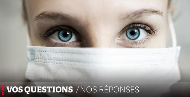 Covid: peut-on être contaminé par les yeux ?