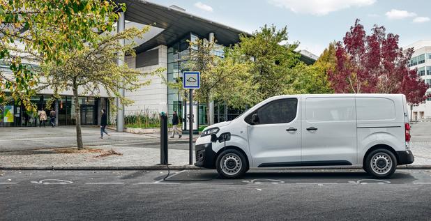 Citroën onthult de E-Jumpy
