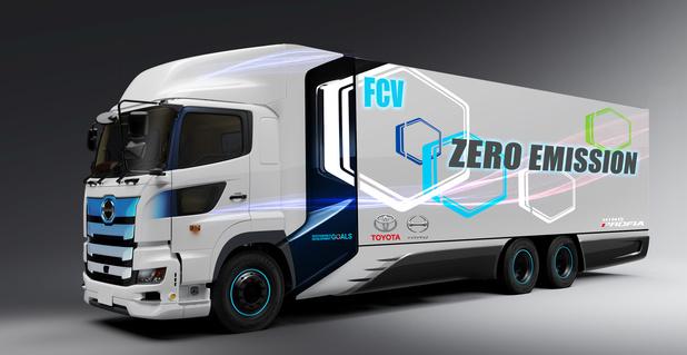 Toyota ontwikkelt samen met Hino brandstofcelvrachtwagen