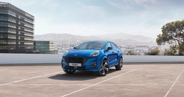 Ford lanceert opnieuw een Puma