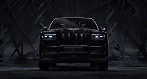 Rolls-Royce Cullinan Black Badge : immensément noir