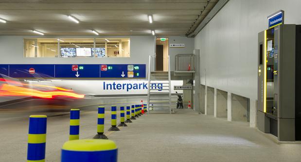 Le personnel d'Interparking mobilisé à Anvers et Bruxelles pour les primes de fin d'année
