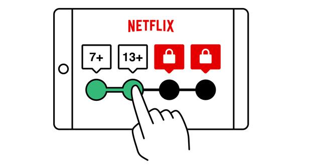 Netflix lance un code pin et un contrôle parental étoffé