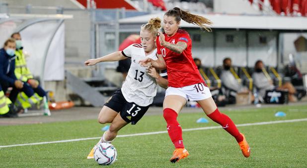 """Elena Dhont (Red Flames): """"On doit montrer notre vraie valeur dans les grands matches"""""""