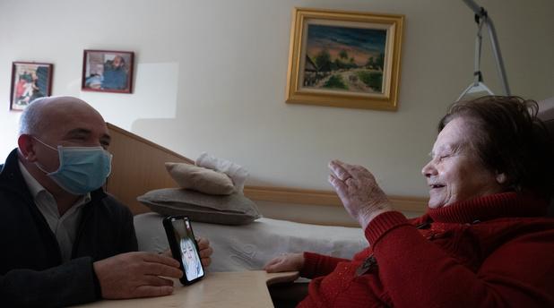 En Wallonie, des visites sont permises en maison de repos sous conditions