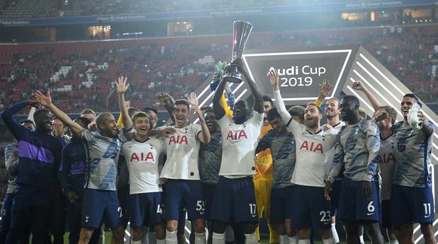 Tottenham et ses Belges battent le Bayern et remportent l'Audi Cup