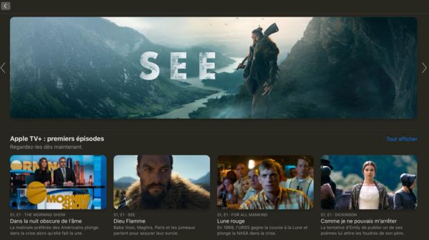 Que peut-on voir sur Apple TV+, le nouveau service de streaming d'Apple?