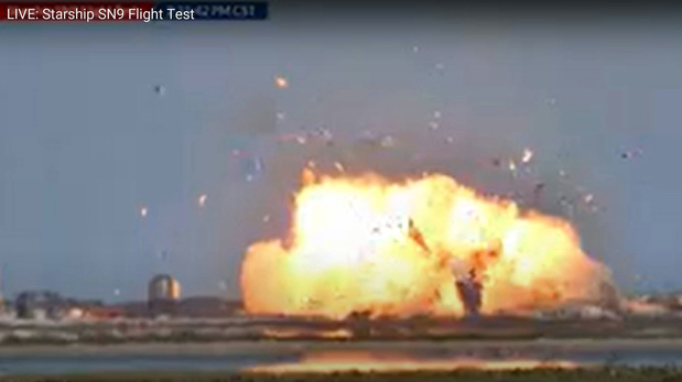 Testvlucht SpaceX eindigt in crash