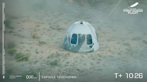 Volg het hier live: 18- en 82-jarige vergezellen Jeff Bezos op ruimtereis