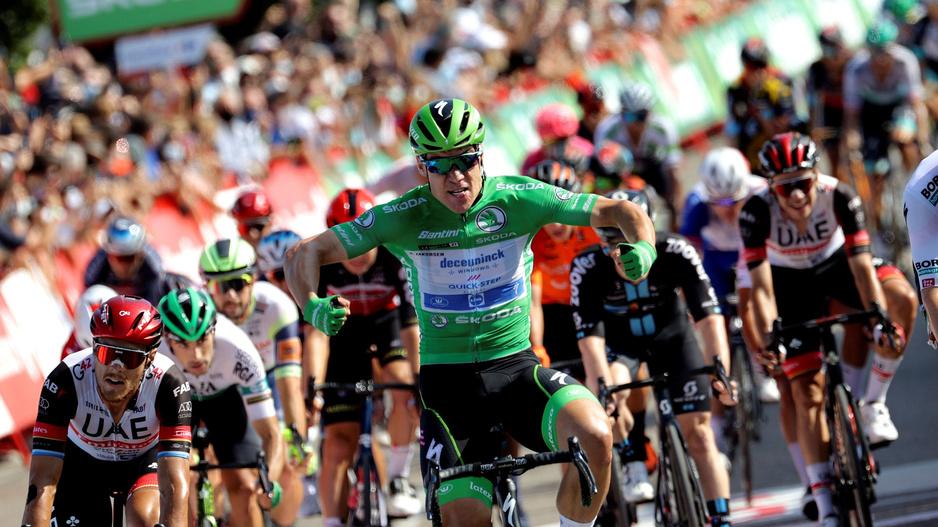 Jakobsen devance le Belge Meeus pour s'adjuger sa troisième étape sur la Vuelta
