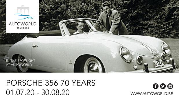 La Porsche 356 souffle ses 70 bougies à Autoworld