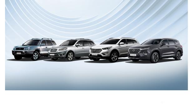 Le Hyundai Santa Fe fête ses 20 ans