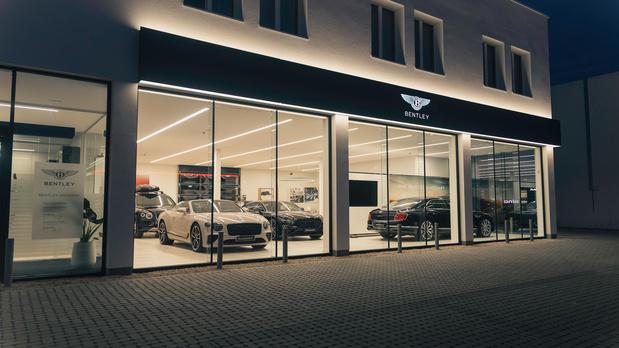 Bentley opent nieuwe vestiging in Antwerpen