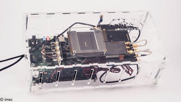 Imec ontwikkelt compacte radar die ademhaling en hartslag kan detecteren