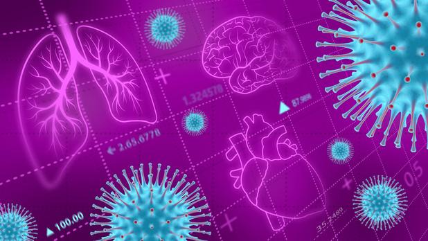 Lichte vorm covid-19 veroorzaakt geen cardiovasculaire complicaties