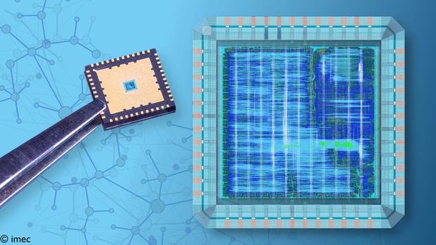 imec-chip laat drones supersnel en energiezuinig beslissen