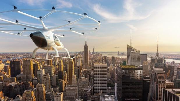 Vliegen we binnenkort allemaal met de drone naar het werk?