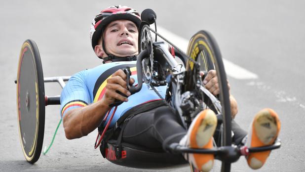 Paralympiques: Les handbikers Van de Steene et Deberg passent près de la médaille dans la course en ligne
