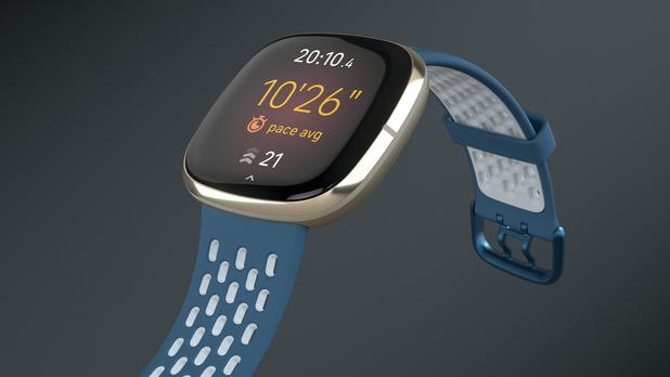 Fitbit introduceert smartwatch met temperatuursensor en stressmeter