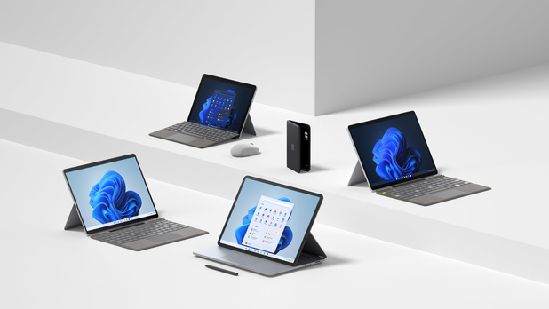 Microsoft brengt nieuwe Surface-toestellen uit