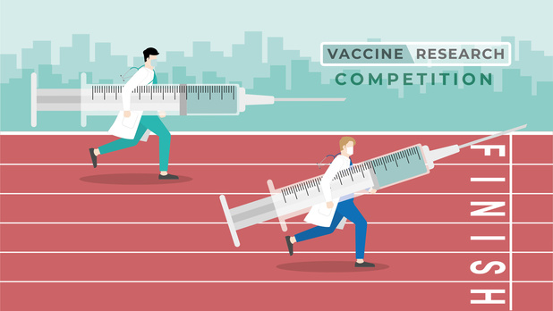 Un vaccin rapide mais peu efficace pourrait aggraver la pandémie