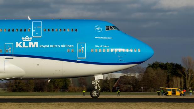 """KLM dit adieu """"d'une triste manière"""" au Boeing 747"""