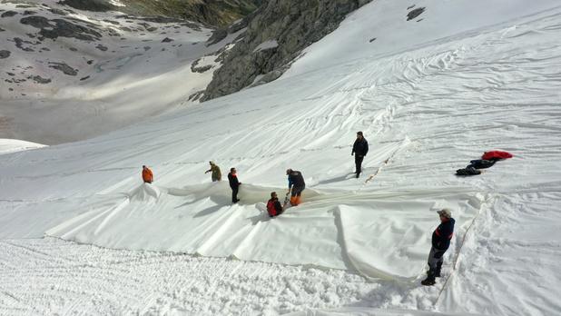 Comment protéger un glacier du réchauffement