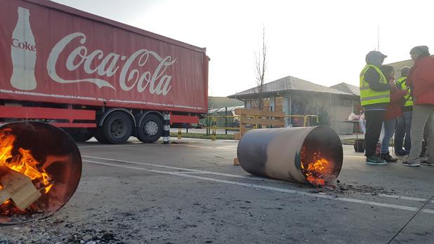 Fin des actions de blocage chez Coca-Cola