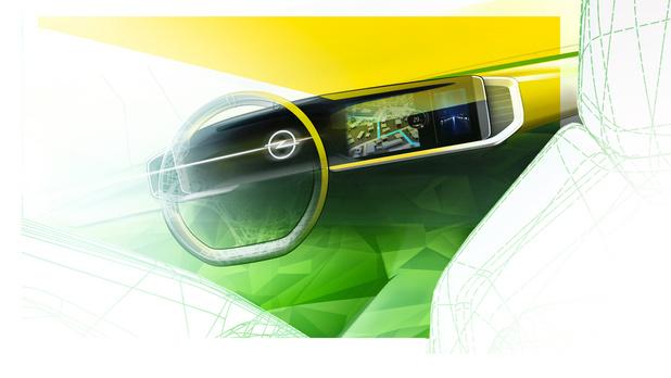 Opel va passer aux grands écrans digitaux
