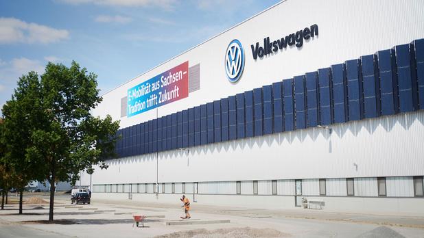 Volkswagen-fabriek van Zwickau klaar voor e-mobiliteit