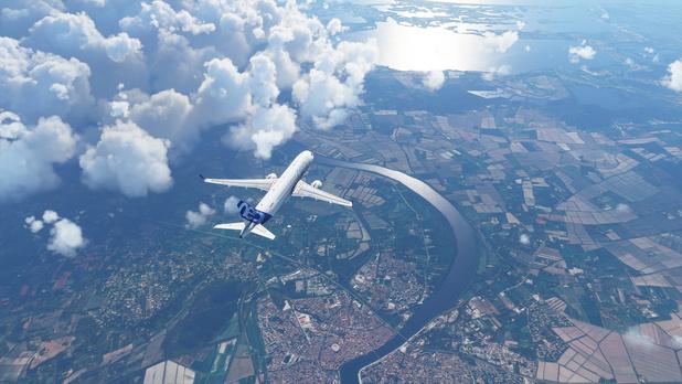 Nieuwe 'Flight Simulator' is een etalage voor Microsoft-technologie