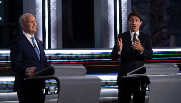 Elections au Canada: quel avenir pour Justin Trudeau face à son rival conservateur Erin O'Toole ?