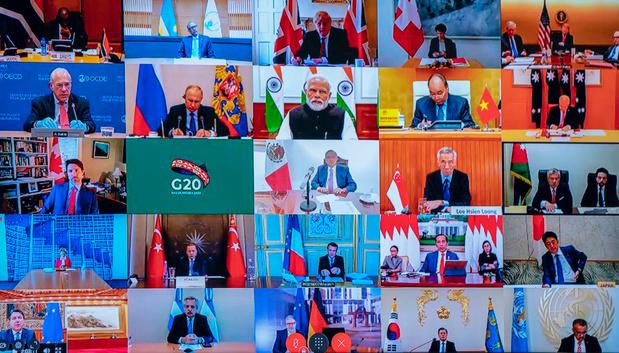 Coronavirus: plus de 200 personnalités appellent à un sommet de crise du G20