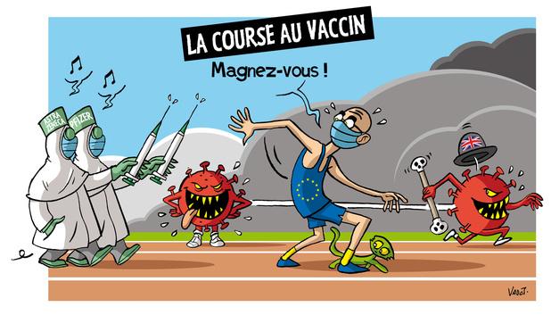 Les compléments de Vadot: la course aux vaccins, les vacances de carnaval et l'affaire Duhamel